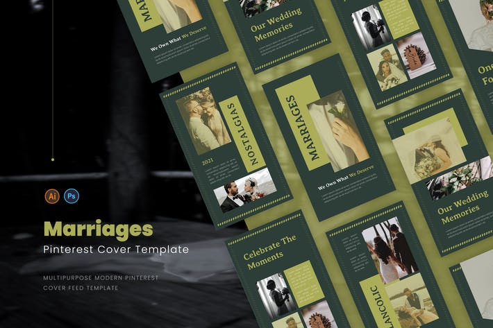Thumbnail for Marriages Pinterest Cover