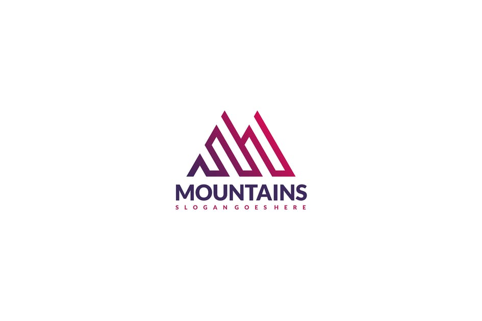 Download Mountains Logo by 3ab2ou