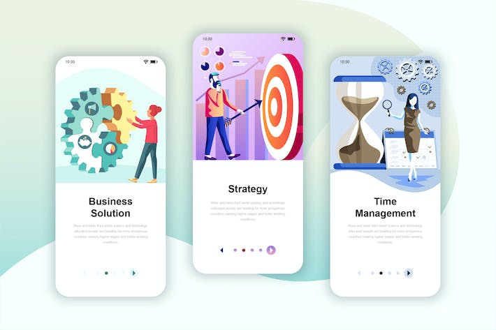 Instagram Stories Onboarding Screens Mobile App by alexdndz on