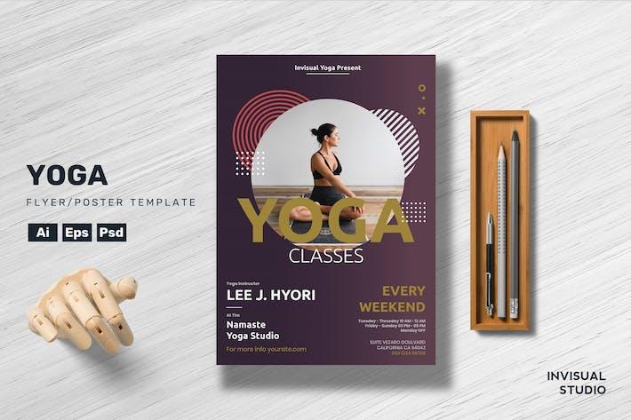 Thumbnail for Yoga - Flyer Template