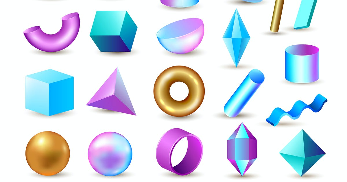 Download Abstract 3d Design Elements by Artness