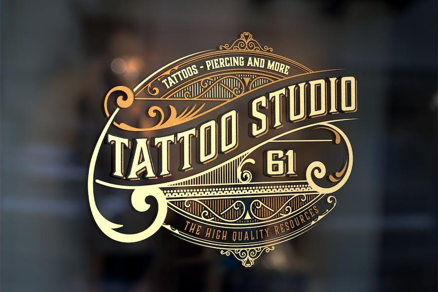 Vintage Tatto logo