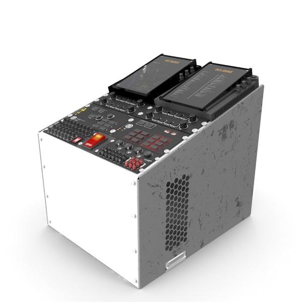Control de panel digital de Sci Fi