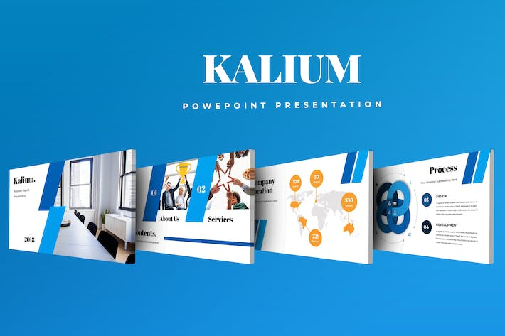 Thumbnail for Kalium Corporate Powerpoint Presentation