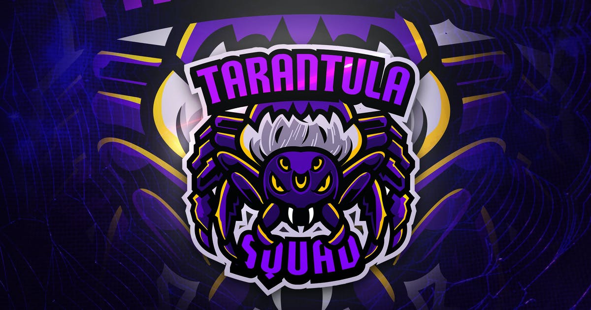 Download Tarantula Squad - Macsot & EsportLogo by aqrstudio