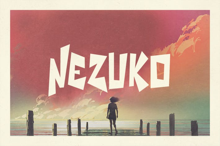 Thumbnail for Nezuko Typeface