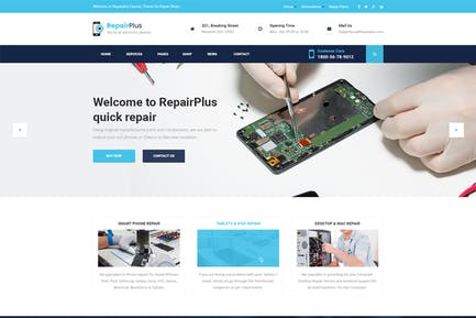 Repair Plus - Phone and Electronic Repair PSD