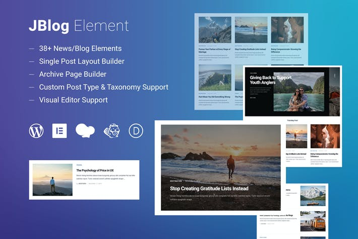 Thumbnail for JBlog Elements - Elementor & WPBakery Add-ons