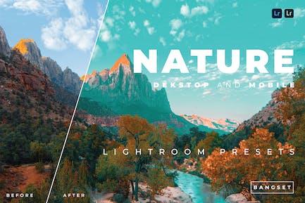 Nature Desktop and Mobile Lightroom Preset