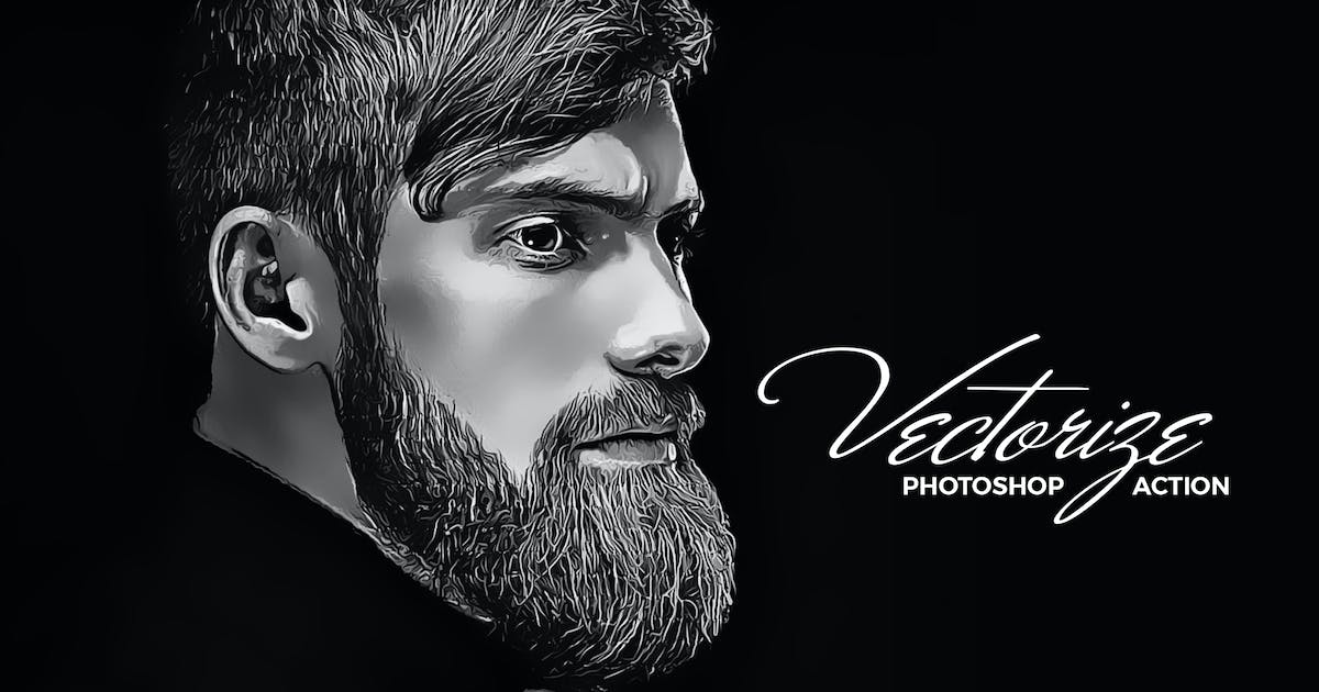 Download Vectorize Photoshop Action by Hemalaya1