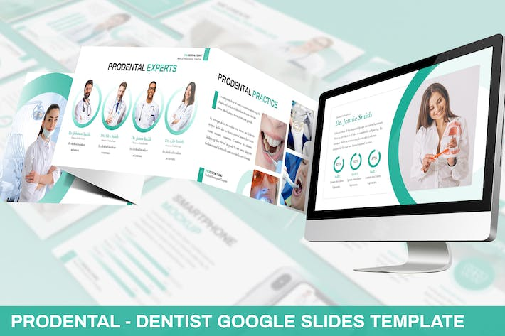 Thumbnail for Prodental - Dentist Google Slides Template