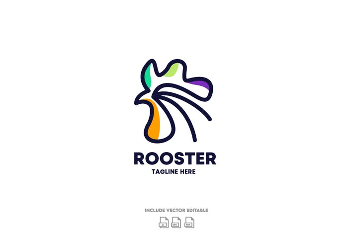 Thumbnail for Rooster Logo Design