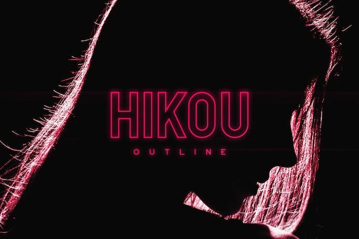 Thumbnail for Hikou Outline