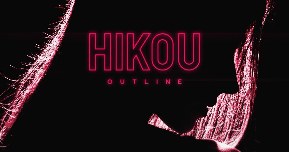 Hikou Outline by MehmetRehaTugcu