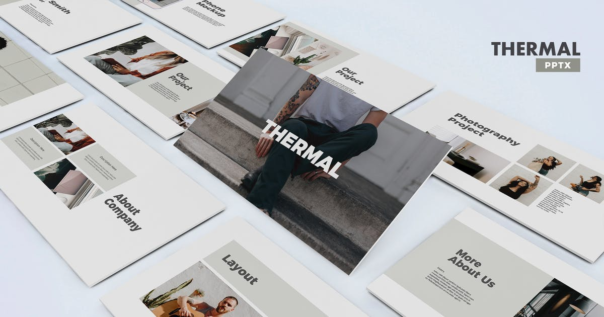 Download Thermal - Powerpoint Template by UnicodeID