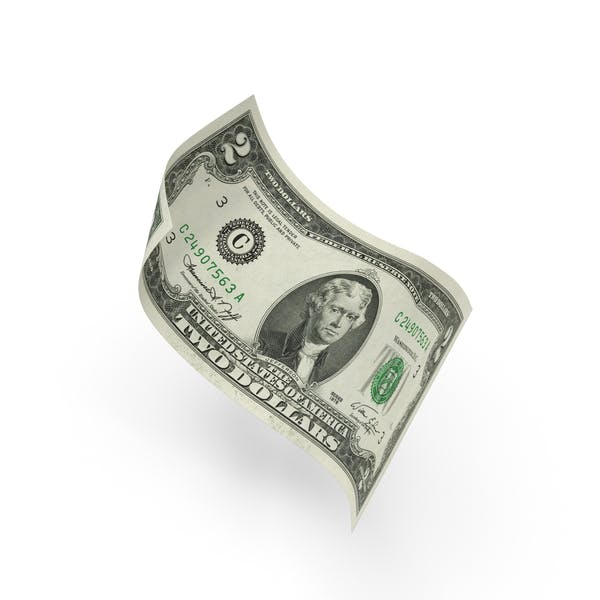 Cover Image for US 2 Dollar Bill
