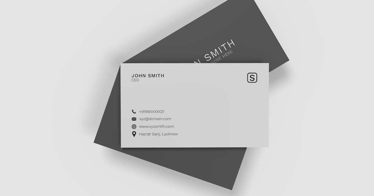 Download Minimalist Business Cards Mockup Vol. 2 by indotitas
