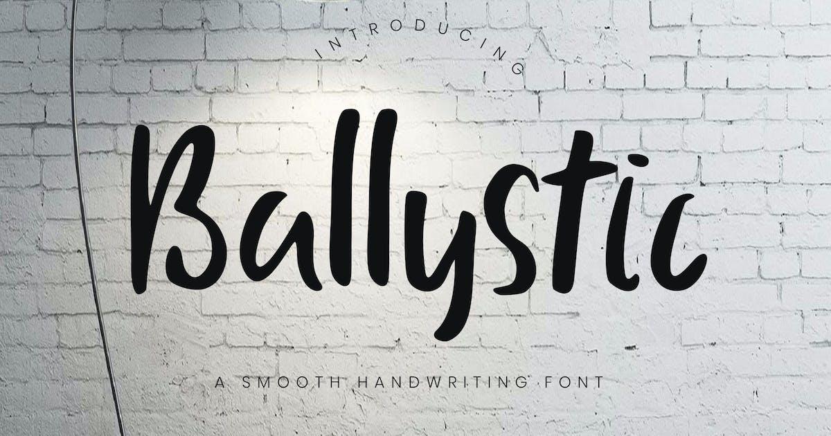 Download Ballystic Handwriting Typeface by RahardiCreative