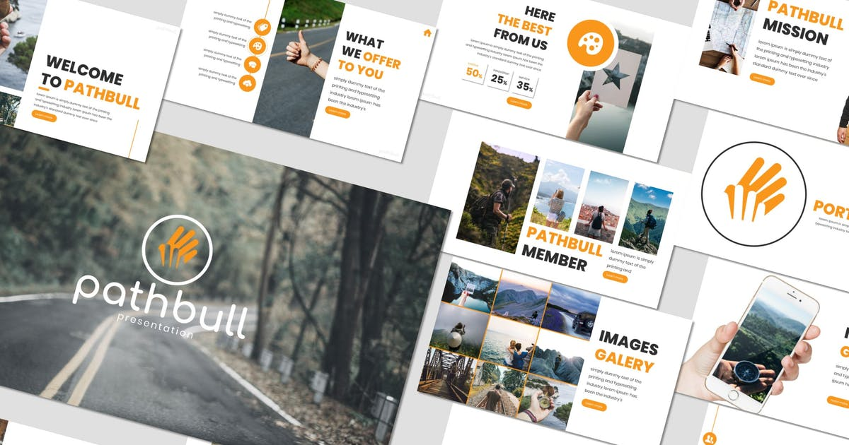 Download Pathbull - Powerpoint Template by inspirasign