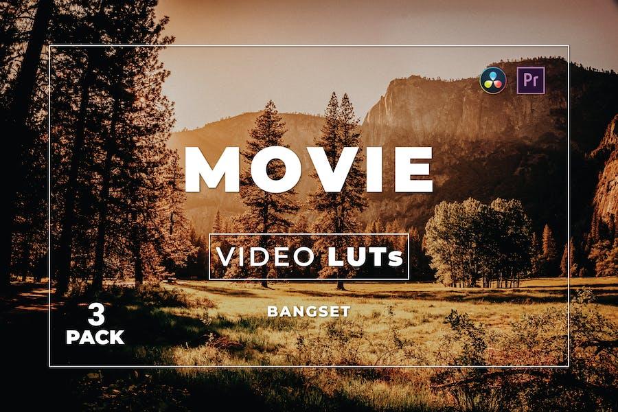 Пакет фильмов Bangset 3 Видео LUTs