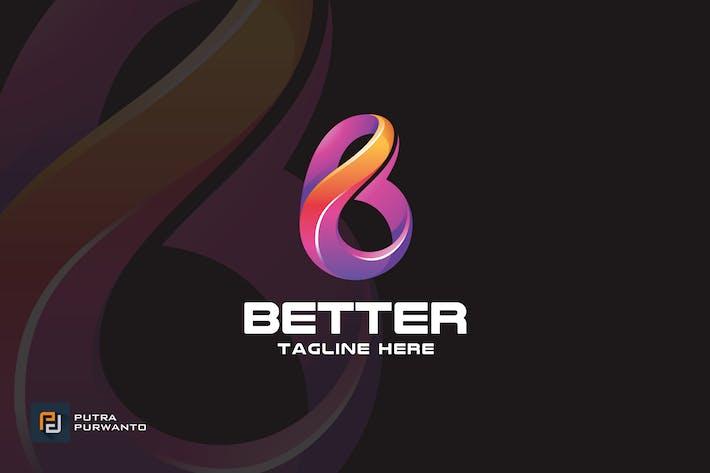 Thumbnail for Better / Letter B - Logo Template
