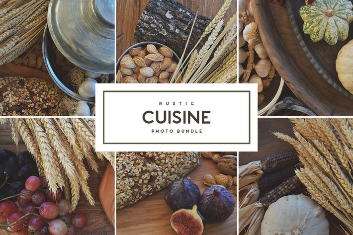 Thumbnail for Rustic Cuisine - Stock Photo Bundle