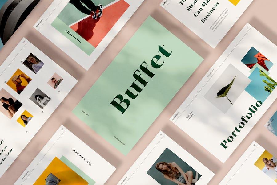 Buffet Google Slides