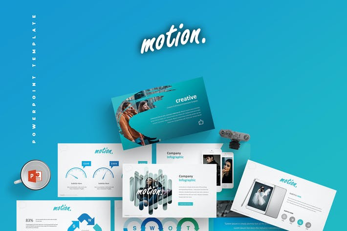Thumbnail for Motion - Powerpoint Template