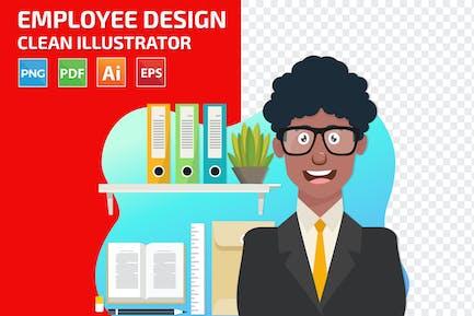 Mitarbeiter-Design