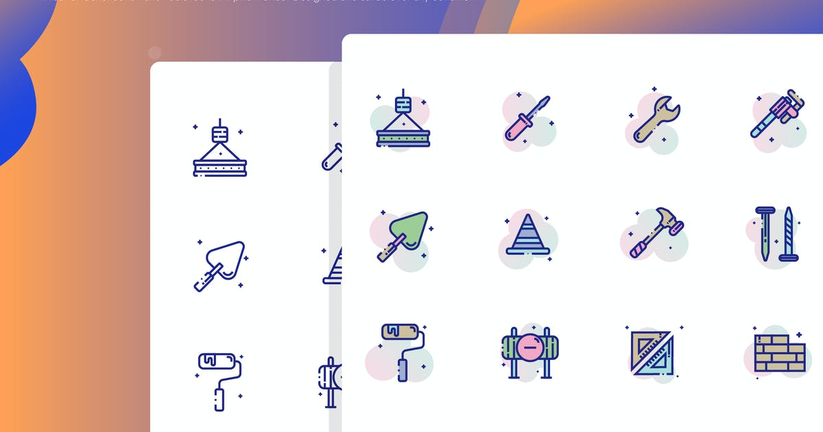 Download Construction and Tools Icon Pack by inspirasign
