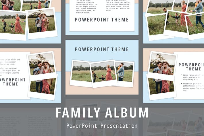 Thumbnail for Family Album PowerPoint Template