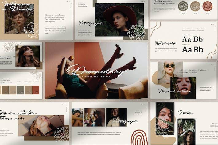 Thumbnail for Dromodary Brand Shets Powerpoint