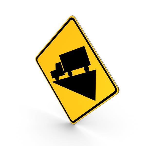 Steilte Grade Hill Straßenschild