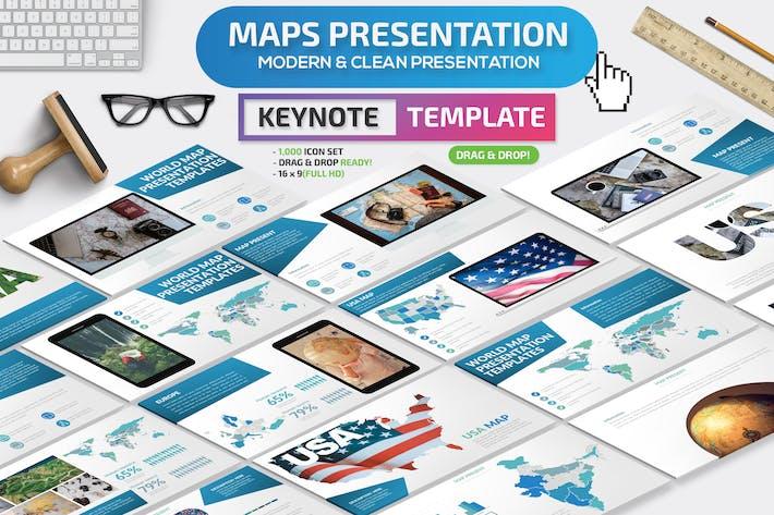 Thumbnail for Презентация Keynote карт