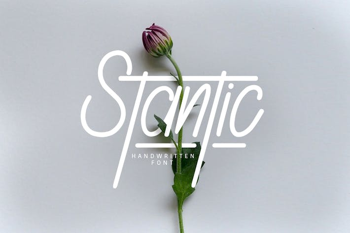 Thumbnail for Stantic Typeface