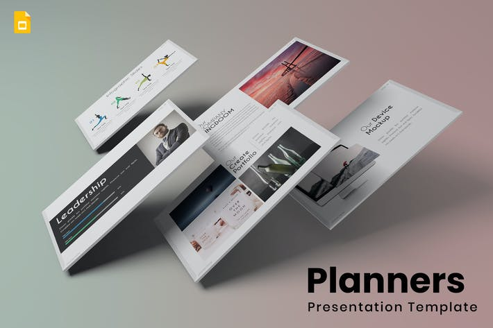 Thumbnail for Planners - Google Slides Template