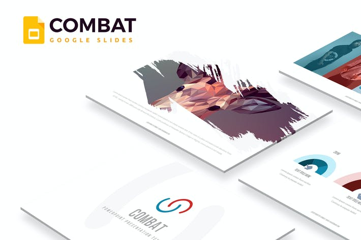Thumbnail for Combat - Google Slides Template