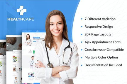 Health Care - Doctor Hospital Medical template