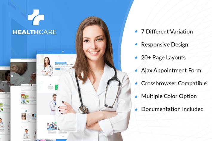 Thumbnail for Health Care - Doctor Hospital Medical template
