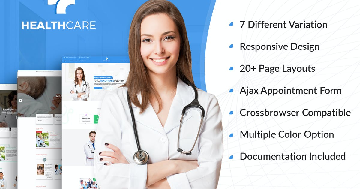 Download Health Care - Doctor Hospital Medical template by kamleshyadav