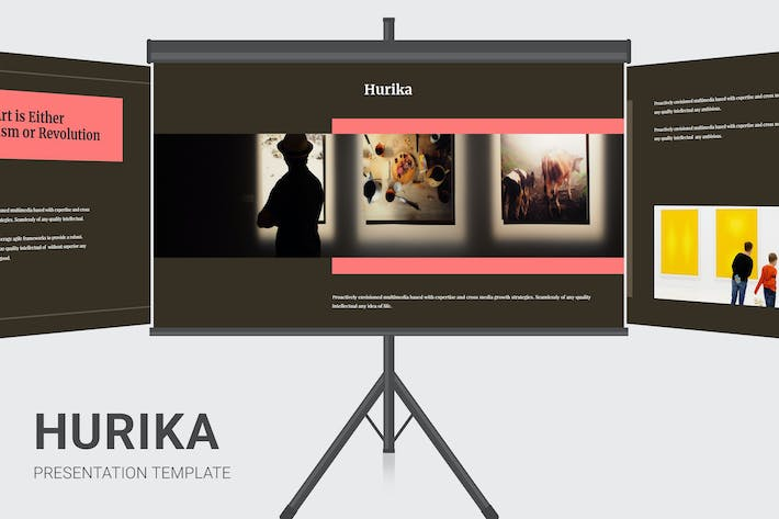Thumbnail for Hurika - Kunstgalerie Keynote
