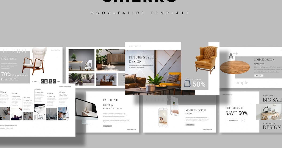 Download Chierro - Google Slide Template by aqrstudio