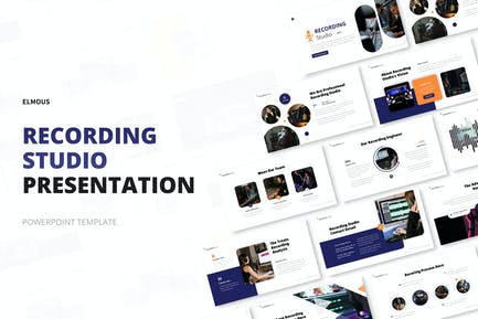 Recording Studio Powerpoint Template