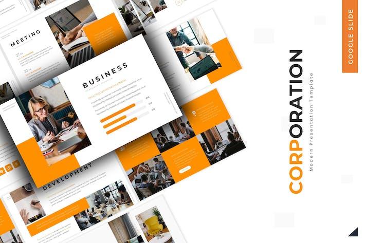 Thumbnail for Corporation - Google Slides Template