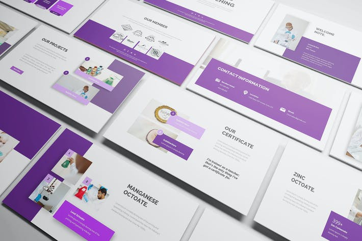 Thumbnail for Chemical Powerpoint Template