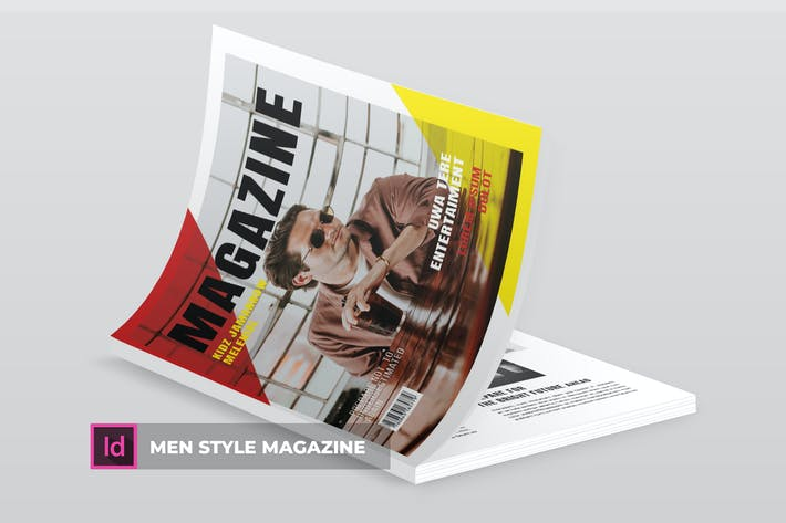 Cover Image For Men Style | Magazine Template