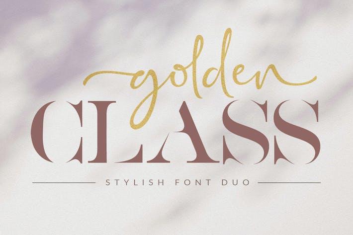 Thumbnail for Clase Dorada - Font Duo