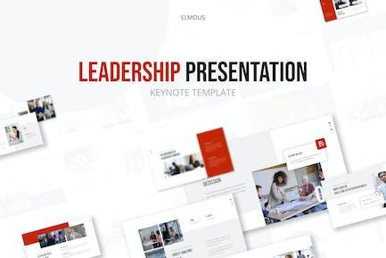 Шаблон презентации Keynote руководства