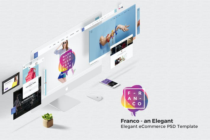Thumbnail for Franco - Elegant eCommerce PSD Template