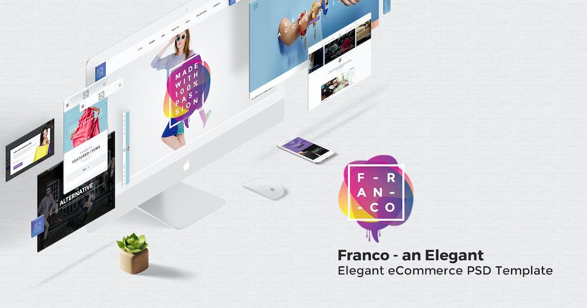Download Franco - Elegant eCommerce PSD Template by ArrowHiTech